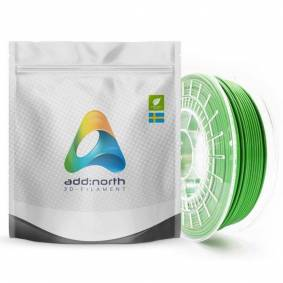 Addnorth E-PLA-filament for 3D-skrivere 1,75 mm Grønn