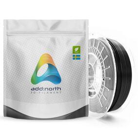 Addnorth E-PLA-filament for 3D-skrivere 1,75 mm Svart