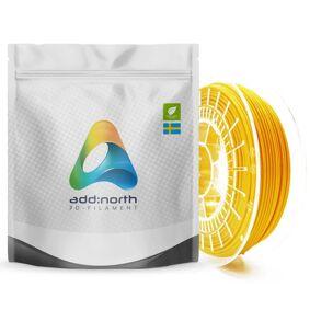 Addnorth E-PLA-filament for 3D-skrivere 1,75 mm Gul