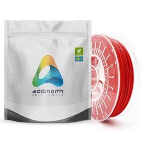 Addnorth E-PLA-filament for 3D-skrivere 1,75 mm Rød