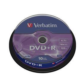 Verbatim DVD+R på spindel 10-pk.
