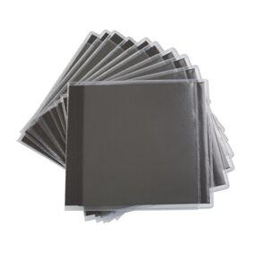 CD-lomme dobbel med karbonpapp 25-pk.
