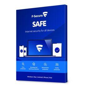 F-secure Safe Antivirus og surfebeskyttelse 1 år 1 enhet