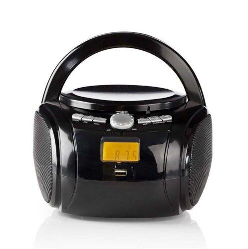 Portabel CD-spiller med Bluetooth
