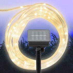 Rubicson Solcelledrevet lyslenke 75 LED 7,5 m