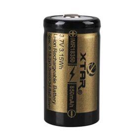 18350 Li-ion-batteri 3,7 V 850 mAh