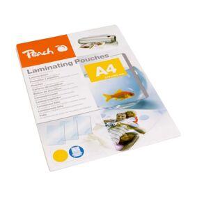 Peach Tynne lamineringslommer A4 100-pakk