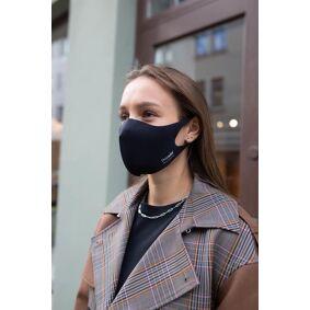 Dropsafe Viraloff Mask Ansiktsmaske Munnbind Sort