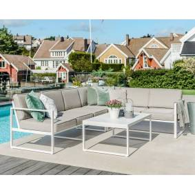 ingarden-1 Sofagruppe modell Camilla – hvit