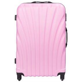 Borg Design Koffert I Rosa - Hard Abs / Polykarbonat