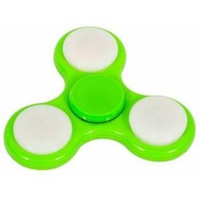 Jysk Partivarer Fidget Spinner Med Led-Lys - Grønn - Smart  Fidget Spinner Med Led-Lys I Mange Farger