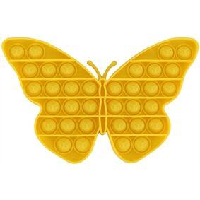 Jysk Partivarer Pop It - Fidget Toys - Bubble - Butterfly - Gul