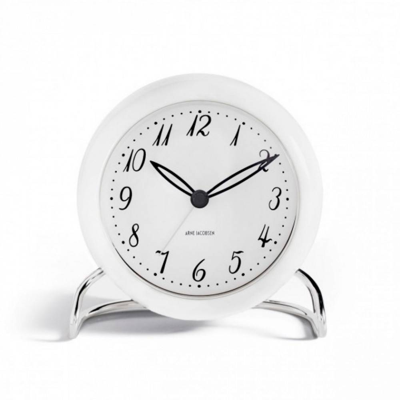 Arne Jacobsen Alarm Clock 43670 - Kvarts Urverk -