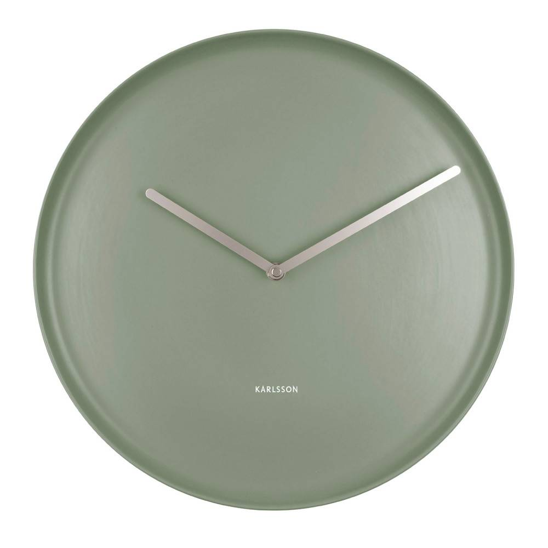 Karlsson Wall Clock Plate Ka5786gr - 35 Cm - Kvarts Urverk