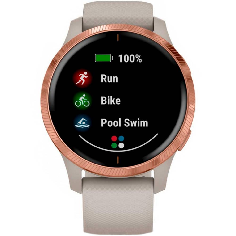 Garmin Venu 010-02173-22 - Dame -  - Smartwatch - Mineralglas