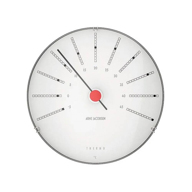 Arne Jacobsen Bankers Thermometer 43687 - 12 Cm - Mekanisk Automatisk