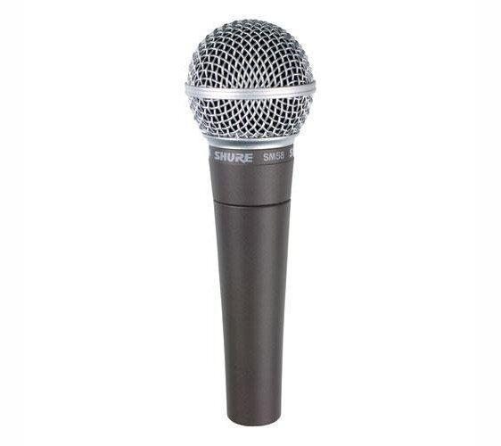 Shure - Sm58, Microphone Dynamic Cardoid Vocal