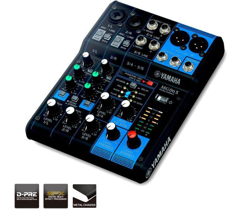 Yamaha Mg06x, Mikser (Effekt)
