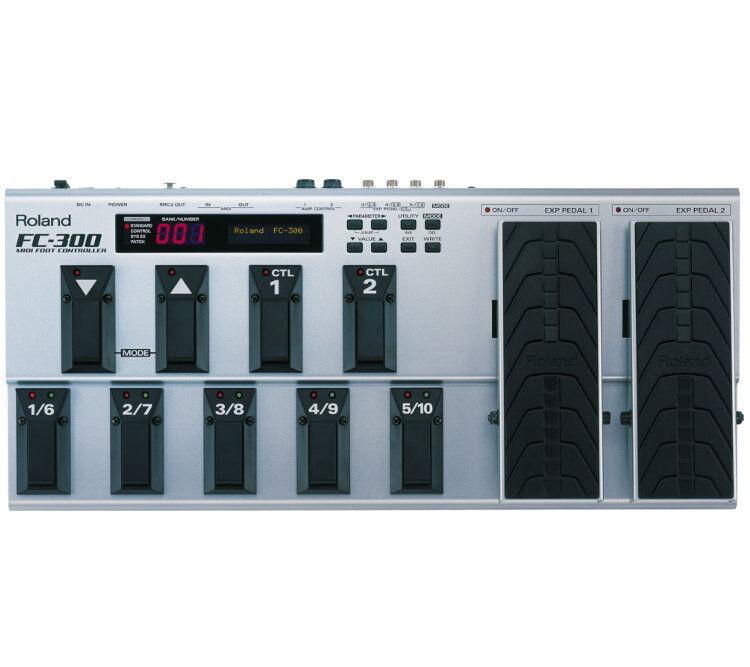 Roland - Fc-300, Midi Fot-Kontroller (Utstilling)