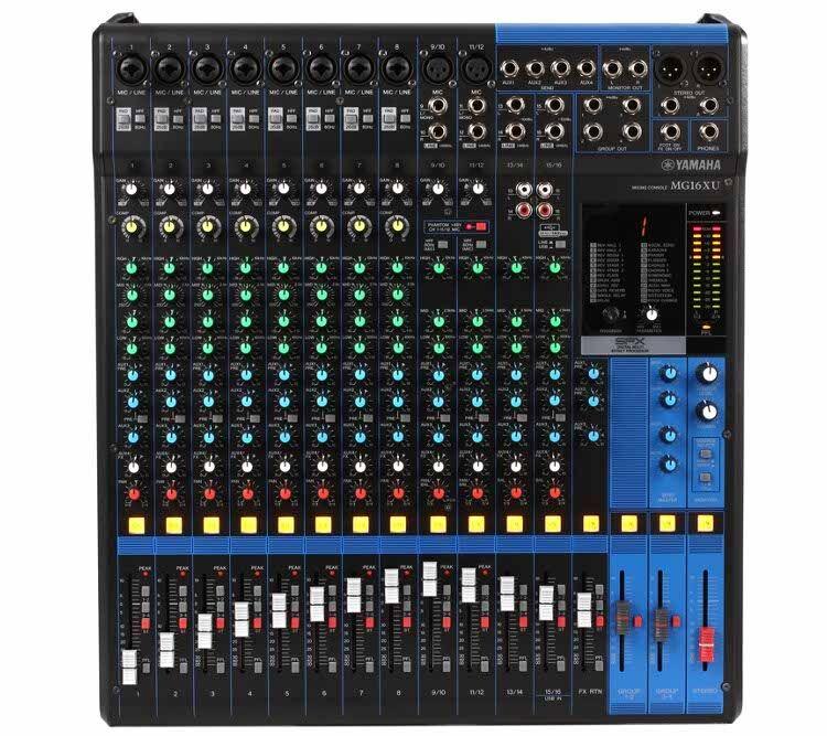 Yamaha Mg16xu, Mikser (Effekt & Usb)