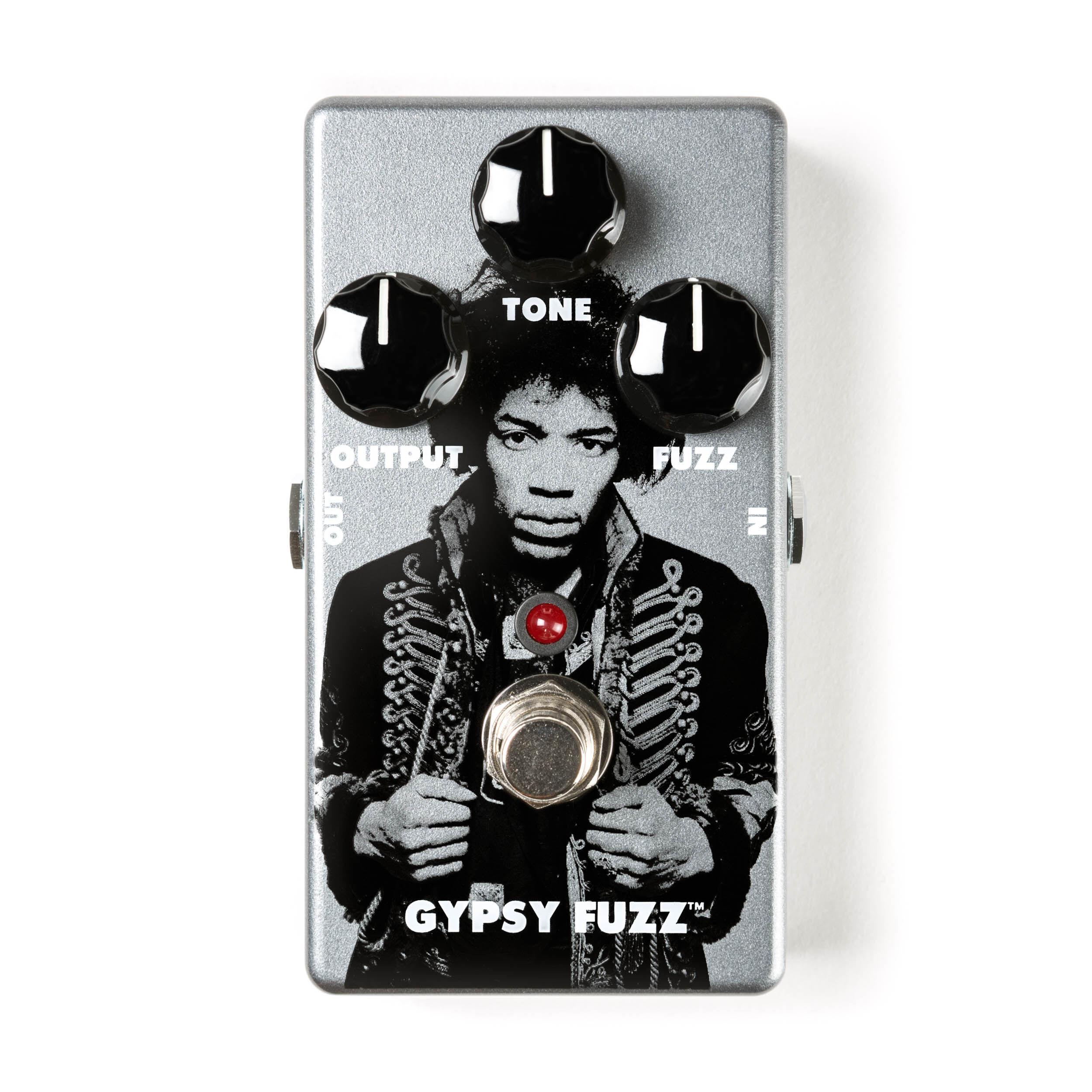 Mxr Jhm8 Jimi Hendrix Gypsy Fuzz Face - Limited Edition