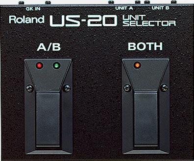 ingen merke Roland Us-20 Unit Selector