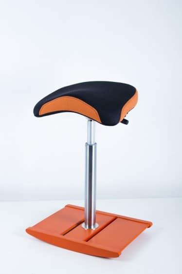 Active Sit Balans Stoff Sort/oransje