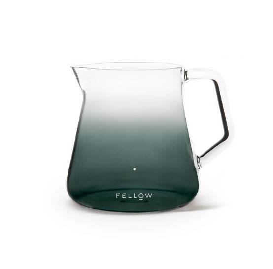 Kaffebox Mighty Small Glass Carafe by Fellow Products - Smoke Grey
