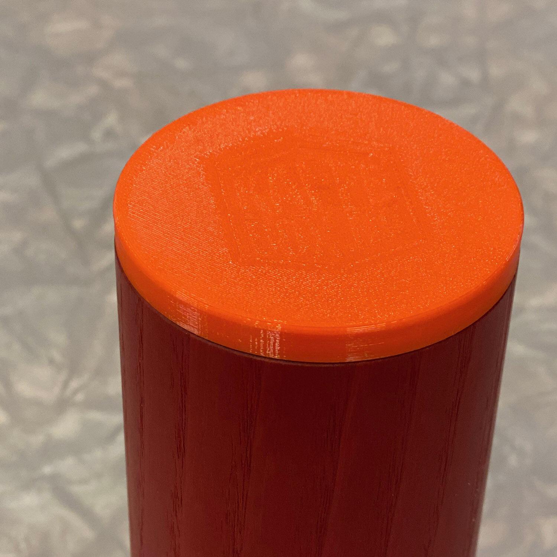 KaffeBox Travel Top for Comandante C40 - Signal Orange