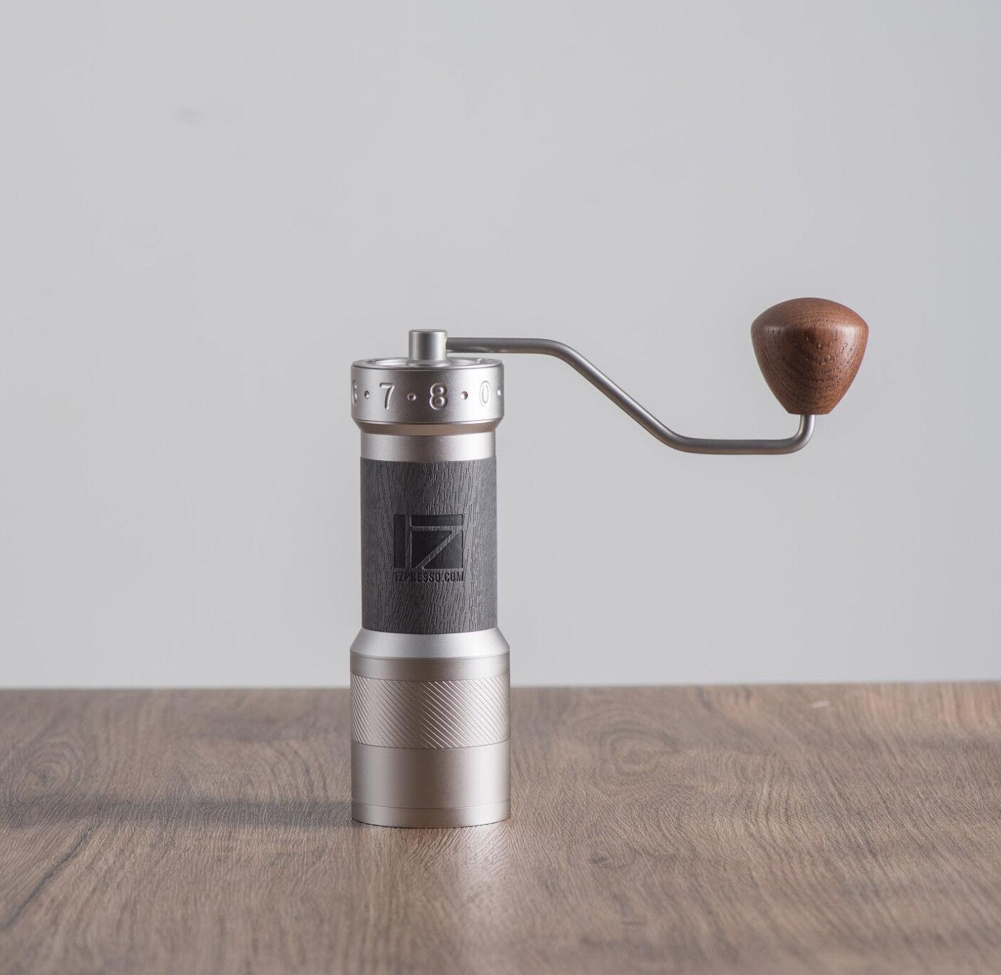 Kaffebox 1Zpresso K-PLUS Manual Coffee Grinder - Grey