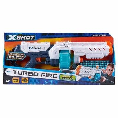 Liniex X-Shot Turbo Fire med 48 pilar