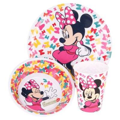 Disney Minni Mus 3-delt middagsservise
