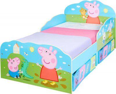Peppa Pig Peppa Gris barneseng skuffer med oppbevaringsplass