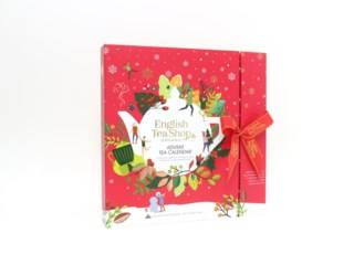 English Tea Shop Ets Book Style Red Adventskalender
