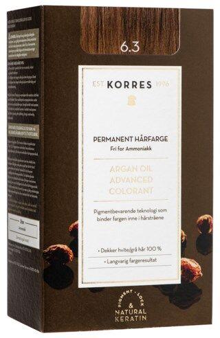 Korres Argan Oil Advanced Colorant Golden/honey Dark Blonde 6.3