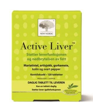 New Nordic Active Liver 120 Tabletter