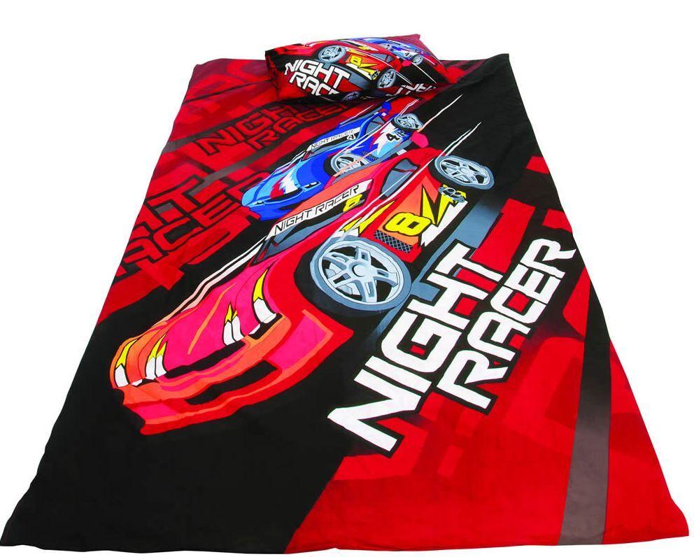 Drømmerom Night Racer Sengesett