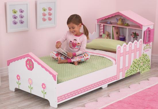 Drømmerom Prinsesseseng med dukkehus