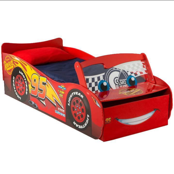 Drømmerom Disney Cars barneseng med LYS – NYHET