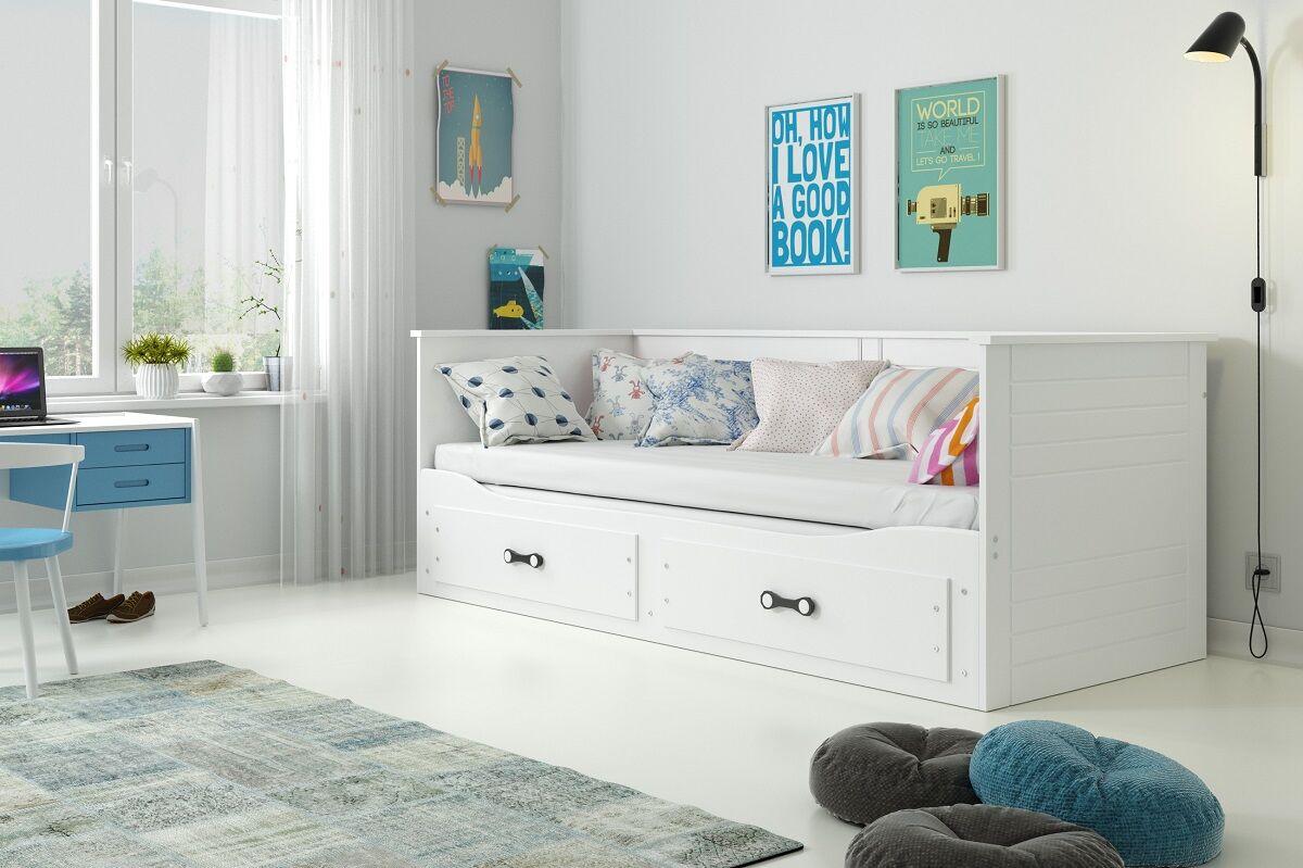 Drømmerom Hermes Dagseng med skuff – inkludert madrasser!