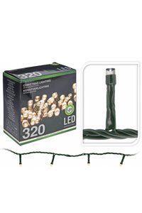 Christmas Lights LED-julelys til innendørs eller utendørs bruk (320 lyspærer)