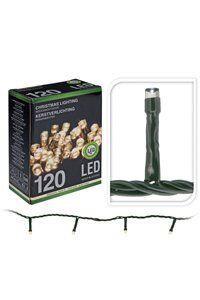 Christmas Lights LED-julelys til innendørs eller utendørs bruk (120 lyspærer)
