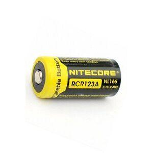 Rechargeable Nitecore 1x RCR123A batteri