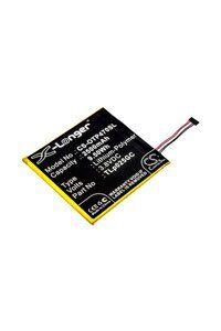 Alcatel OT-9003X batteri (2500 mAh, Sort)