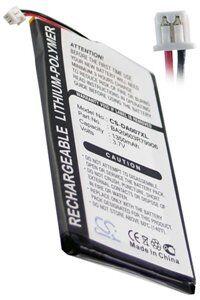 Creative Zen Neeon batteri (1350 mAh, Sort)