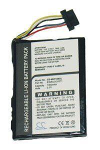 Pharos EZ-Road PEZ120 batteri (1300 mAh, Sort)