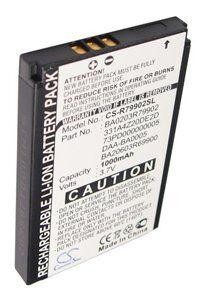 Creative Nomad batteri (1000 mAh, Sort)