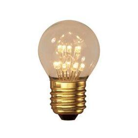 E27 Calex E27 LED-lyspærer 1W (10W) (Pære, Klart)