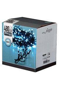 Christmas Lights LED-julelys til innendørs eller utendørs bruk (480 lyspærer)