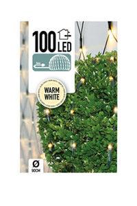 Christmas Lights LED-mikroklynge julelys (100 lyspærer)